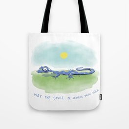 Gabriel the Gecko Tote Bag