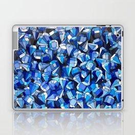 Fond Bleu Laptop & iPad Skin