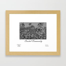 Coastal Community Framed Art Print