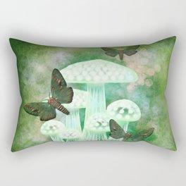 Mossy Moths Rectangular Pillow