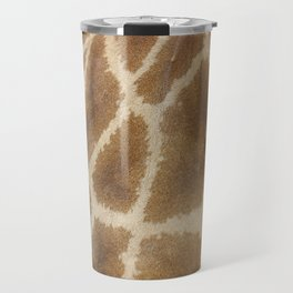 skin of a giraffe Travel Mug