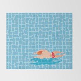 Pool # IVO CARALHACTUS Throw Blanket