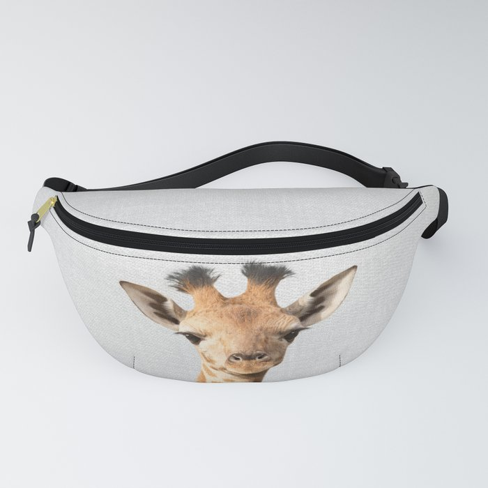 Baby Giraffe - Colorful Fanny Pack