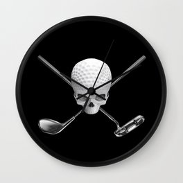 Fairway to Hell Wall Clock