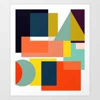 geo Art Prints featuring Geo by Mr and Mrs Quirynen