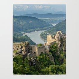 Castle Ruins of Aggstein, Wachau (Austria) Poster