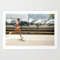 sport Art Prints featuring Sport by Sébastien BOUVIER