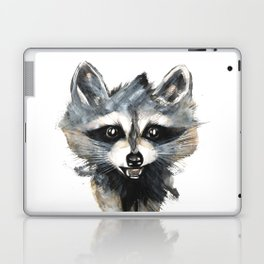 Raccoon stealing seeds! Laptop & iPad Skin