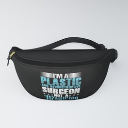 Plastic Reconstructive Surgeon Magician Surgery Gift Fanny Pack