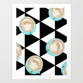 Love you a Latte Art Print