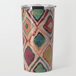 V38 EPIC ANTHROPOLOGIE MOROCCAN CARPET TEXTURE Travel Mug