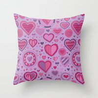 novelty Throw Pillows featuring Novelty by Aron Gelineau