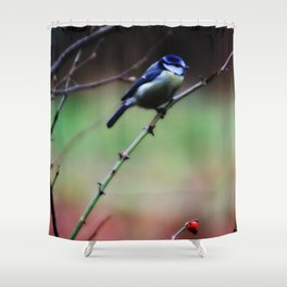Tweet Tweet  - JUSTART © Shower Curtain