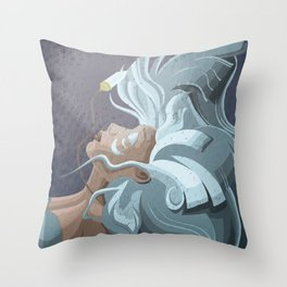 Kida from Atlantis Throw Pillow