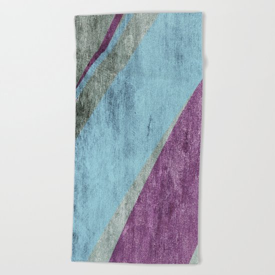 overlaps Beach Towel