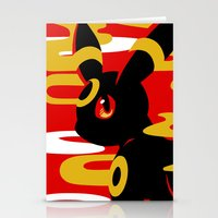 umbreon Stationery Cards featuring #197 - Umbreon by Solis