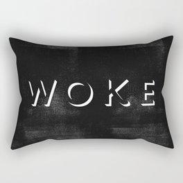 WOKE V Rectangular Pillow