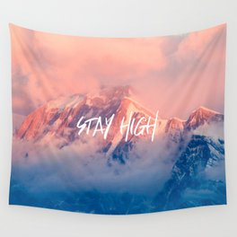 Stay Rocky Mountain High Wall Tapestry