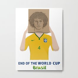 The End of the world cup 2014 Metal Print