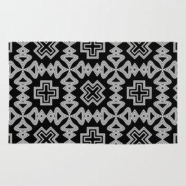 Veracruz. In black and white. Rug