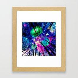 My sky Framed Art Print