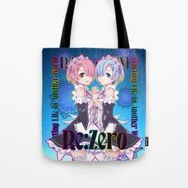 RE:Zero Rem & Ram Tote Bag