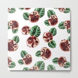 Pomegranate 1.0 Metal Print