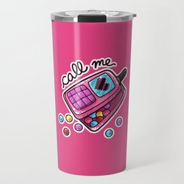 Candy Calling Card Travel Mug