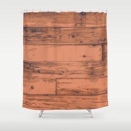 Floorboards Shower Curtain