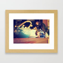Teapots Framed Art Print