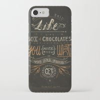 forrest gump iPhone & iPod Cases featuring Forrest Gump by dianahan