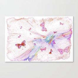 """Flash Dream ~ Butterflies"" Canvas Print"