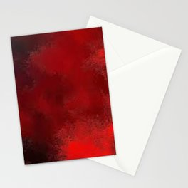 Red Abstract 1 Stationery Cards