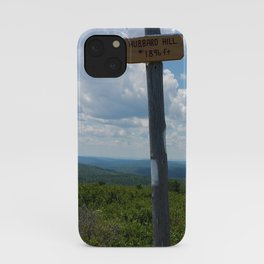 Hubbard Hill New Hampshire iPhone Case