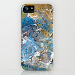 Mineralogy - Abstract Flow Acrylic iPhone Case