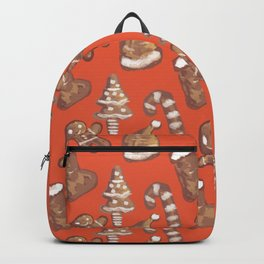Ginger Biscuit Red Backpack