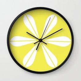 LOTUS MINIMAL - Vanilla cream. Wall Clock