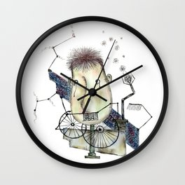 system of non-speaking Wall Clock