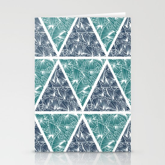 Geometric Paradise Stationery Cards
