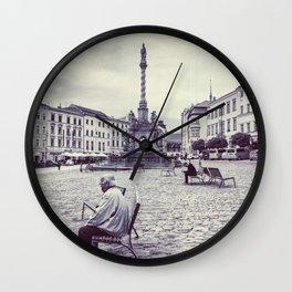Olomouc city photo #Olomouc #photo #city Wall Clock