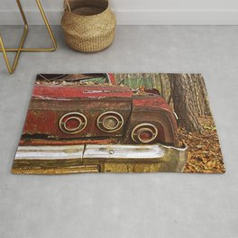 Abandoned In The Woods Rug