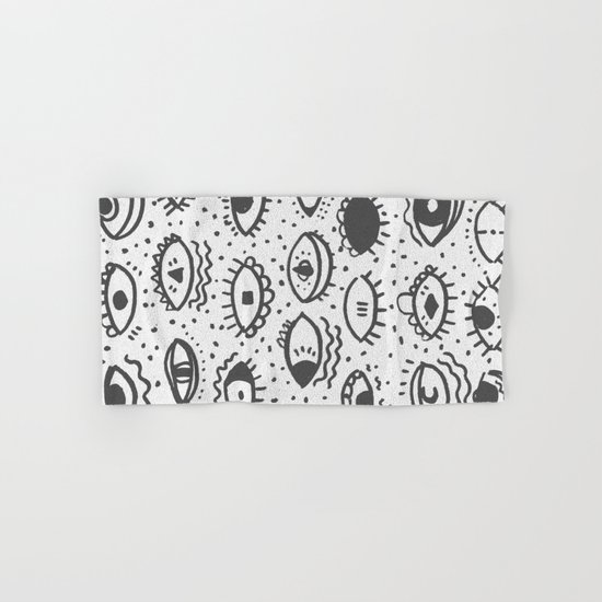 EYES PATTERN Hand & Bath Towel
