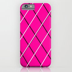 pink, black and white iPhone 6s Slim Case