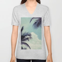 Welcome to Miami Palm Trees Unisex V-Neck
