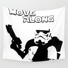Move Along Wall Tapestry