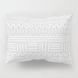 Mud Cloth on Light Gray Pillow Sham