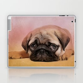 Pug puppy  Digital Art Laptop & iPad Skin