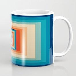 Retro Cat 80s Coffee Mug