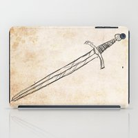 sword iPad Cases featuring The Sword by Steve Perrson