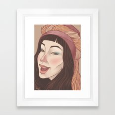 Smile3 Framed Art Print